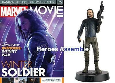 Marvel Movie Collection #96 Winter Soldier Figurine Avengers Infinity Eaglemoss