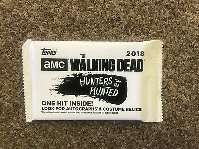 2018 Topps Amc The Walking Dead Hunters And The Hunted Hit  Pack