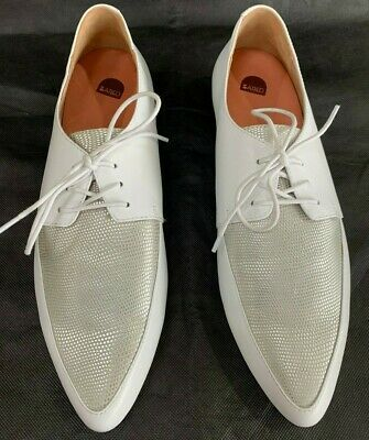Bared Footwear - White Leather Shoes sz42 - As new condition