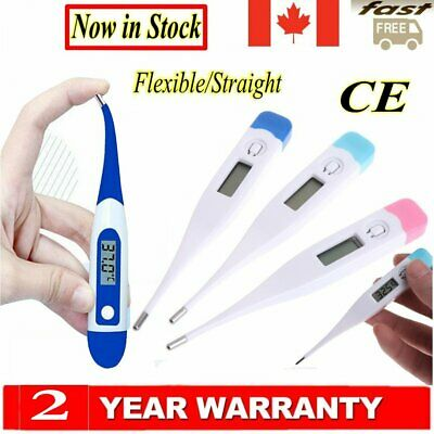 LCD Medical Body Thermometer Baby Child Adult Oral Rectal Digital Temperature CE