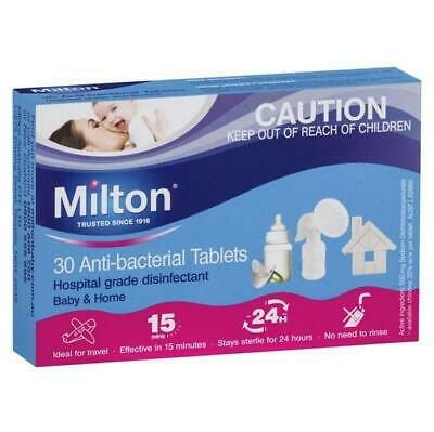 Milton 30 Anti-bacterial Tablets Hospital Grade Disinfectant Baby and Home