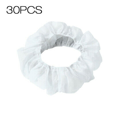 30pcs Disposable Toilet Covers Cushions Seat Cover Non-woven Business D0S6