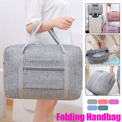 Portable Travel Luggage Baggage Storage Carry-On Duffle Tote Hand Bag Waterpoof