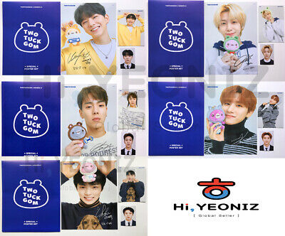 [Official]Twotuckgom X Monsta X Special Event Mini Poster Photo Card Set Limited