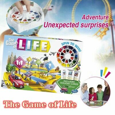 The Game of Life Board Game Parent-child Interactive Game 2019 Newest Edition