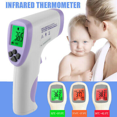 IR Infrared Digital NonContact Forehead Thermometer Ear Temperature Baby Adult G