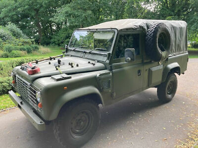 Land Rover Defender Wolf 300 Tdi 110 Soft Top -