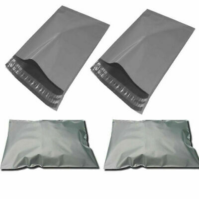 "9*12 , 10"" X 14"" Strong Poly Mailing Postage Postal Quality Self Seal Grey bags"