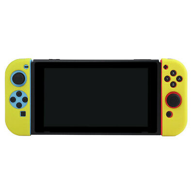 For Nintendo Switch NS NX Joy-Con Controller Silicone Protective Case Cover Q6M0