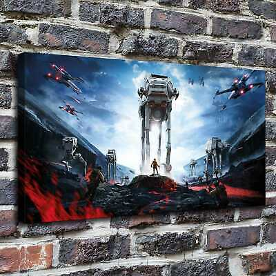 Star Wars Paintings HD Print on Canvas Home Decor Wall Art Pictures posters16*24