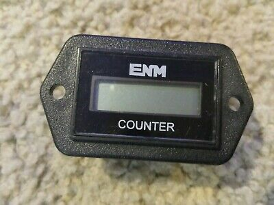 ENM C1121BB Electronic Counter,6 Digits,LCD