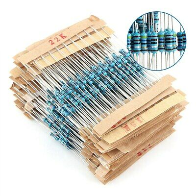 560Pcs 56 Types 250V Metal Film Resistor Electronic Components Assortment Kit