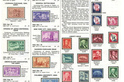 Worldwide Postage Stamp Catalogue 2017 in 6 Volumes A - Z