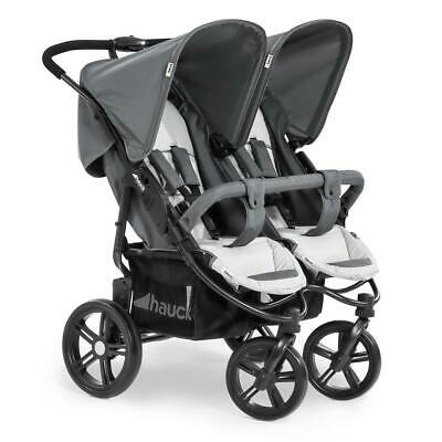 Hauck Roadster Duo SLX Double Pushchair (Grey Silver)