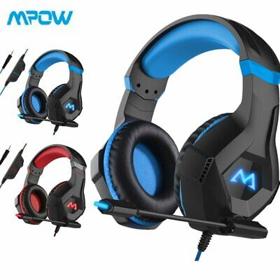 MPOW 3.5mm Gaming Stereo Headset Headphones For Xbox one/PS4/PC/Nintendo Switch