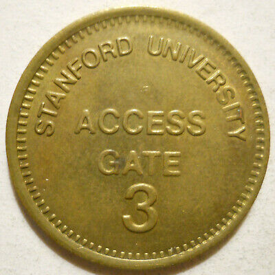 Stanford University (California) parking token - CA3890A