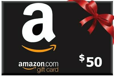 Amazon $50 USD gift card - email delivery
