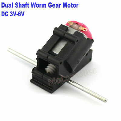1PCS DC3V-5V Precision K20 High Speed Motor with Worm Gear For DIY Toy Car Model