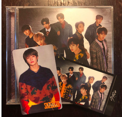 "Stray Kids Japan debut album ""SKZ2020"" I.N Jung-In [CD + 2 photocard ] set"