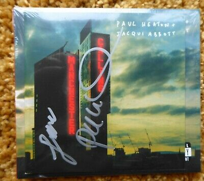 Paul Heaton & Jacqui Abbott - Manchester Calling - Hand Signed Cd. Sealed New