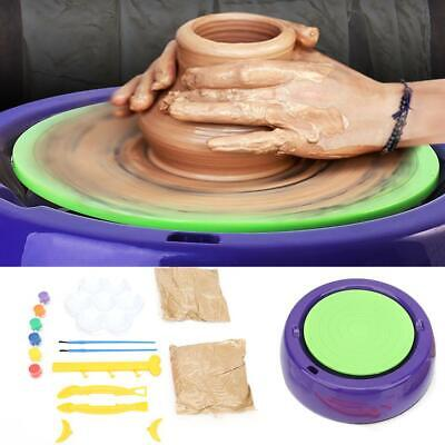 Electric DIY Arts Craft Ceramic Pottery Wheel Clay Pottery Wheel Machine for Kid