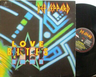 "DEF LEPPARD ~ Love Bites ~ 12"" Single PS"