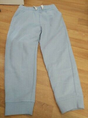 Girls light blue Next jogging bottoms age 7
