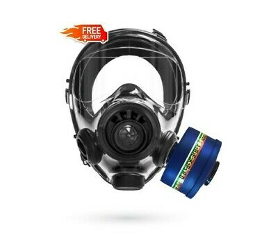 SGE 400/3 BB Gas Mask + Filter For Biological, Chemical and Nuclear Contaminants