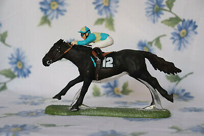Schleich 2007 Racing Set Horse and Rider Very Rare