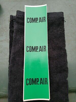 Compressed Air Pipe Markers