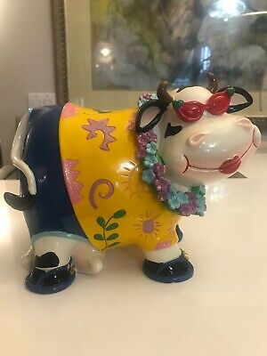 Brand New Cute Dressed Cow Money Bank