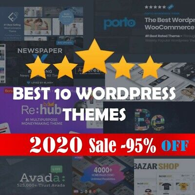 TOP 100 WordPress Premium PRO Themes ~ New One Hand Picked Offer 2020 Up-To-Date