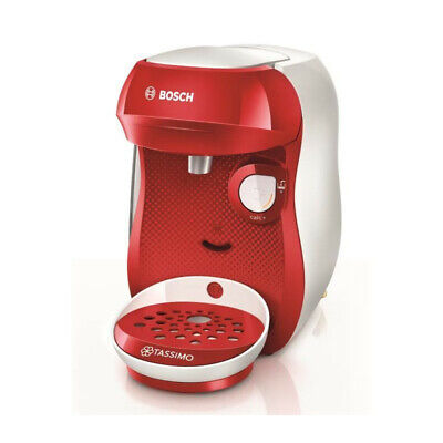 BOSH Machine a Café Tassimo Happy TAS106 - Multi boissons - Rouge &