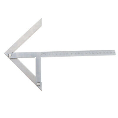 Chrome Plated Accurate 200X150mm*Square Center Finder Scriber Marking Gauge
