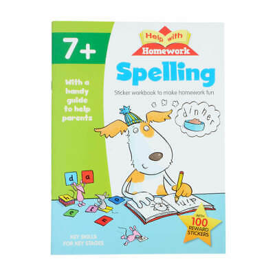 Help with Homework Spelling 7+ Home Education Learning Schoolwork KS1 NEW