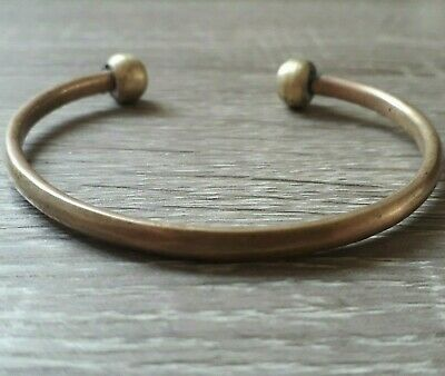 Ancient Bracelet Viking Warrior Unique Artifact Lake Ladoga Very Old Hand Forged