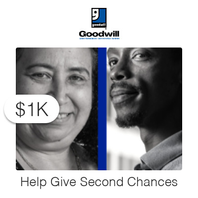 $1000 Charitable Donation For: Second Chance Employee Relief Fund