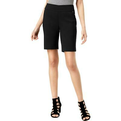 INC Womens Studded Casual Curvy Fit Bermuda Shorts BHFO 4707