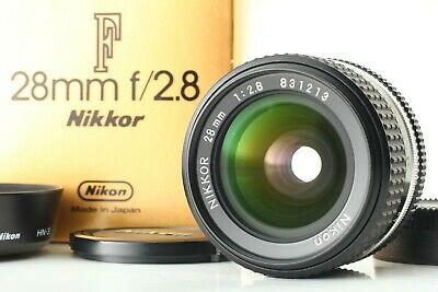 【Mint in Box】 Nikon NIKKOR 28mm f/2.8 Ai-S AIS Wide  MF Lens Hood from Japan #21