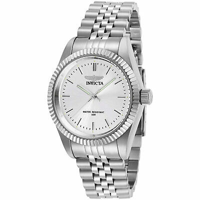 Invicta Women's Watch Specialty Silver Tone Dial Stainless Steel Bracelet 29396