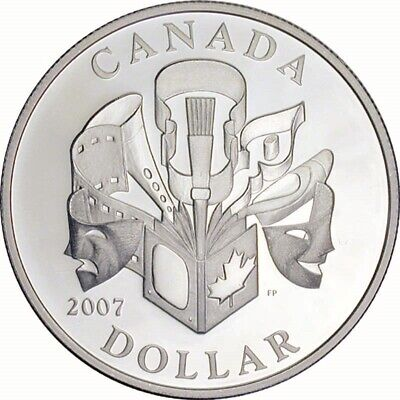 Celebration of the Arts - 2007 Canada Proof Silver Dollar
