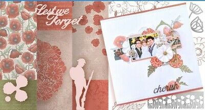 """Couture Creations Lest We Forget Paper Collection  12""""x12"""", 12pk"""