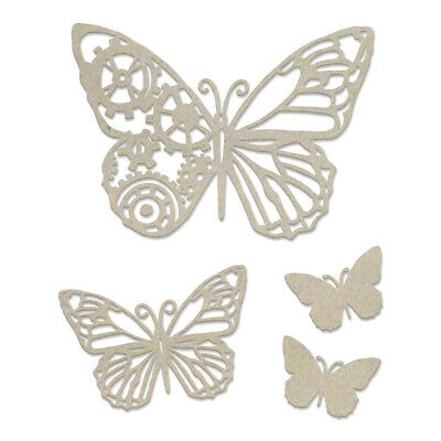 Couture Creations Steampunk Dreams Chipboard Steampunk Butterfly  106mm x 120mm,