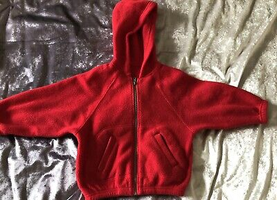 Kids Children Girls Winter Marks And Spencer  Pink Cardigan Hooded age 2-3 Years