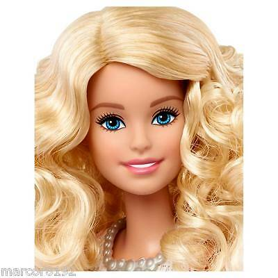 Barbie Fashionistas Barbie Doll Nude Blond Curly Hair New