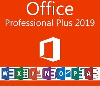 Licencia Office Professional Plus 2019 32/64bit Producto Genuino 5 seg delivery