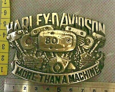 "Harley Davidson ""More Than A Machine"" Belt Buckle"