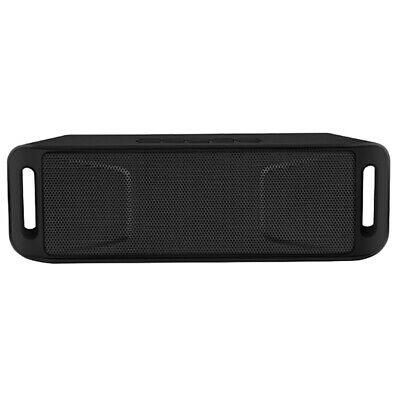 Portable Wireless Bluetooth Speaker TF USB FM Radio Built-In Microphone DuaH5E3