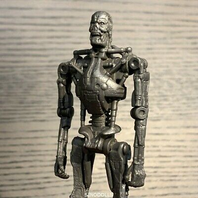 "3.75"" Terminator Salvation Endoskeleton T-600 Collectible Figure Playmates toy"