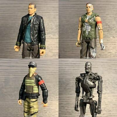 "Terminator Salvation Marcus Endoskeleton T-600 T-700 3.75"" Figure Playmates toys"